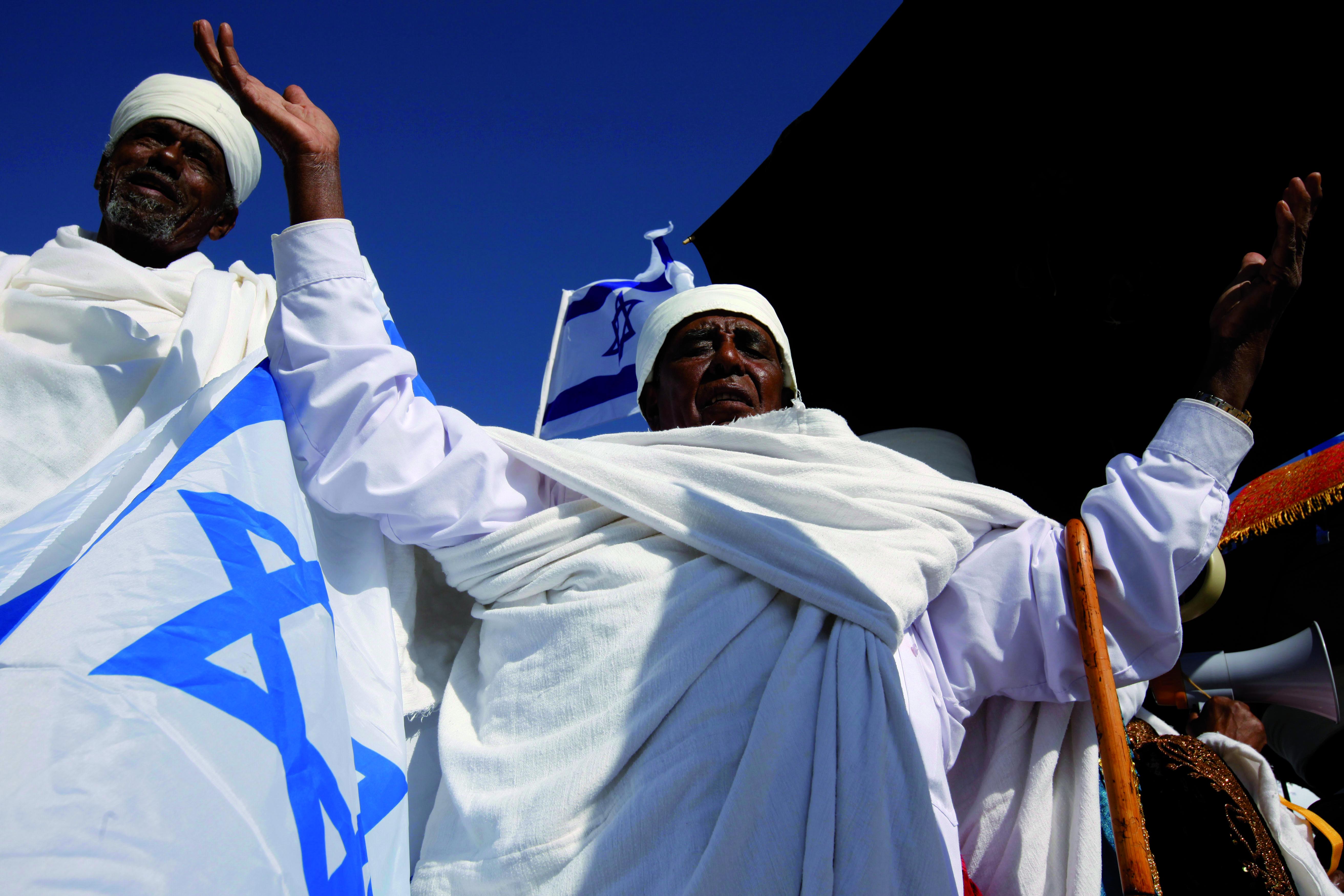 Äthiopische Israelis in Jerusalem