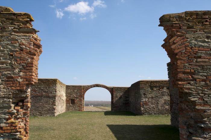 Mauern von Kreuzstadl Rechnitz