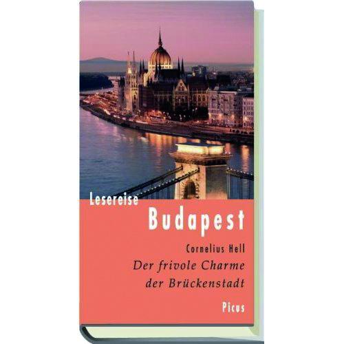 Buchcover Cornelius Hell Lesereise Budapest