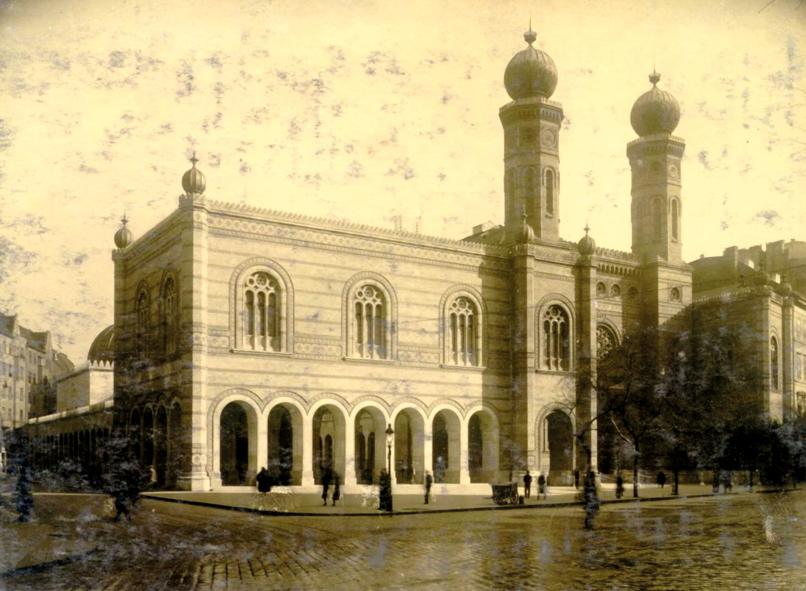 Dohány utca/ © Hungarian Jewish Archives