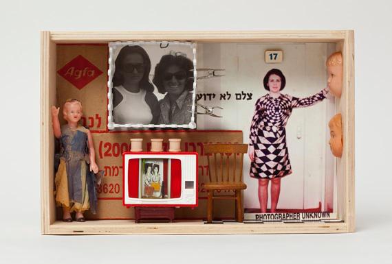 """Fundstücke. """"Ich verwende alte Fotografien, Spielzeug aus den 40iger- und 50iger-Jahren ..."""""""