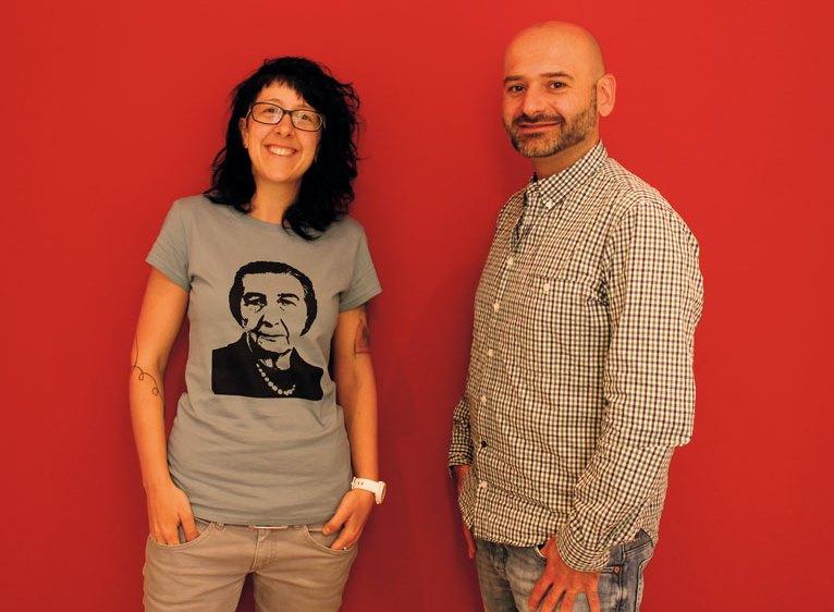 Ursula Raberger und Stefan Schaden das Kibbutz-Team/ © Iris Lanchiano