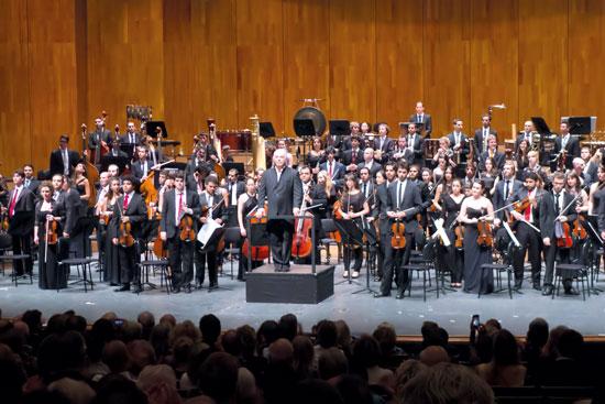 West-Eastern Divan Orchestra. Ein offenes Ohr für die Erfahrungen und Sichtweisen aller Kollegen./ © Reinhard Engel