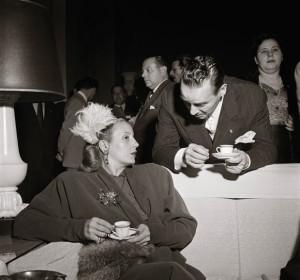 Evita Perón,  Petrópolis, 1947.  © Victor Klagsbrunn/Weidle Verlag