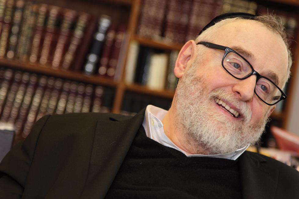 Eine Zeit der Ernte. Oberrabbiner Paul Chaim Eisenberg ist seit 30 Jahren im Amt und hat seither viel bewegt. / © Gilbert Novy KURIER / picturedesk.com