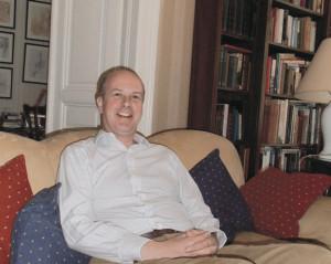Christopher Wentworth-Stanley: intensive Recherchen zu der gesteigerten Tauftätigkeit. © Privatbesitz Christopher Wentworth-Stanley
