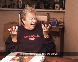 Lilly ist eine von 12 überlebenden gehörlosen JüdInnen aus Wien.