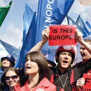 Ist das Europa? Laut einer Umfrage würde jeder dritte Student des Landes die rechtsextreme Jobbik wählen.