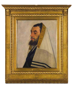 Der Kabbalist aus der aktuellen Ausstellung Die ersten Europäer. Isidor  Kaufmann, Wien,  um 1900.