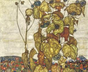 Welke Sonnenblumen aus der Sammlung Karl Grünwald wurde bei einer Routineuntersuchung bei Christie's als entzogenes Gut festgemacht und in Übereinkunft mit den Erben 2006 versteigert.