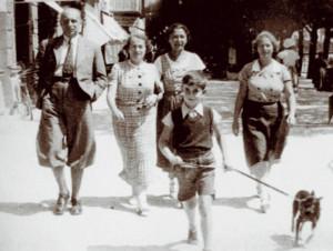 """13 Jahre war Otto Ullmann, als sich seine Eltern am Wiener Ostbahnhof von ihm verabschiedeten. Er und 100 andere """"wohlgeratene"""" Kinder überlebten den Krieg in Schweden."""