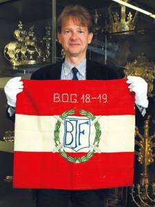 Marcus G. Patka: Der Kurator der Ausstellung Weltuntergang spannt den Bogen vom Besuch Kaiser Franz Josephs in Jerusalem bis zur Gründung des Staates Israel.