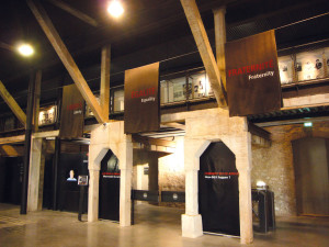 Gedenkstätte. Die ehemalige Ziegelei in Camp des Milles in Aix-en-Provence, ein Ort der intellektuellen Auseinandersetzung.