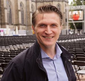 Von Finnland nach Linz. Ville Lignell ist am Landestheater engagiert und singt in der Synagoge.