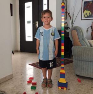 Daniel Tragerman starb auf dem Weg zum Bunker. Er wurde vier Jahre alt.