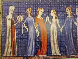 Sarajevo Haggada, 1314. Das älteste überlieferte Zeugnis jüdischer Buchkunst in Spanien.