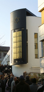 1. Besucherschlangen. Beim Tag der offenen Tür, drei Tage nach der Eröffnung 2011 von Beith Schalom in Speyer.