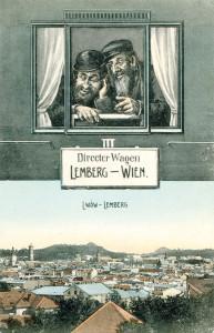 Unbekannte  Größe. Lemberg, die Hauptstadt Galiziens, war um 1900 die viertgrößte Stadt Österreich-Ungarns.