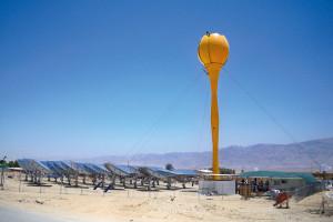 Innovation. Das weltweit erste solarbetriebene, hybride Gasturbinenkraftwerk im Kibbutz Samar.