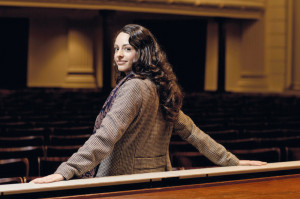 Hila Fahima. Seit 2013 Ensemblemitglied der Wiener Staatsoper.  © Marco Borggreve