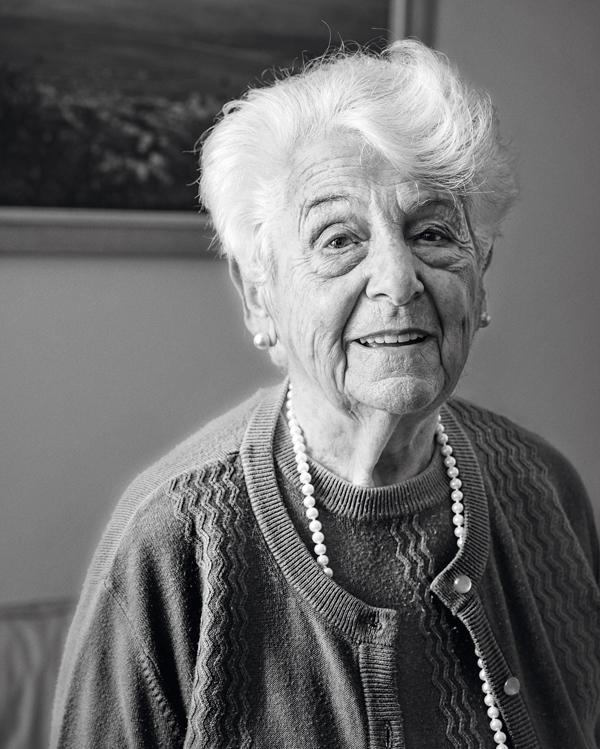 Edith war bei ihrer Flucht 13 Oktober 2015   Maimonides-Zentrum, Wien