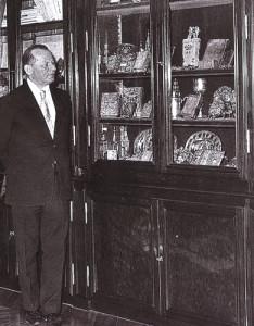 Der stolze Sammler. Frydman zeigte seine Sammlung nur ausgewählten Gästen.