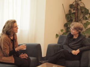 Women Power. Die erste Botschafterin Israels in Österreich im Gespräch mit Anita Pollack.